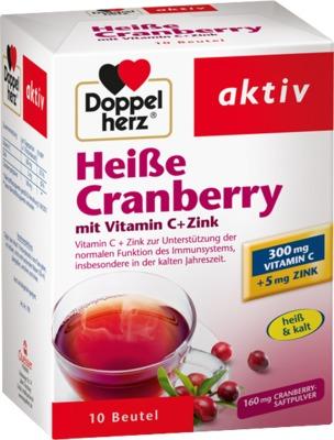Doppelherz Heiße Cranberry mit Vitamin C+Zink
