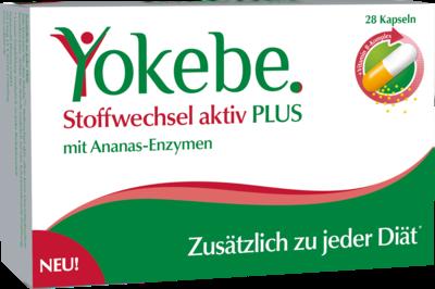 Yokebe Plus Stoffwechsel Aktiv Kapseln