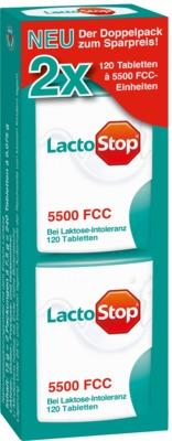 LactoStop 5500 FCC Tabletten Klickspender Doppelpack
