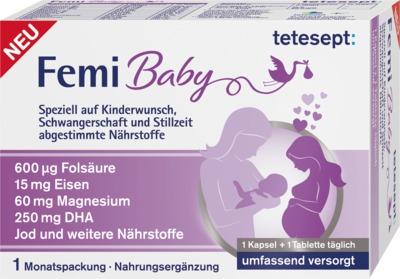 TETESEPT Femi Baby Kombipackung Filmtabletten+Weichkapseln