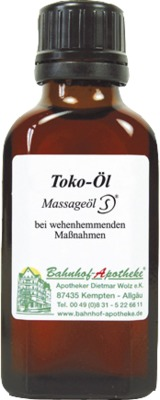 Toko-Öl Massageöl