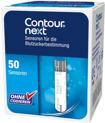 Contour next Sensoren Blutzuckerteststreifen