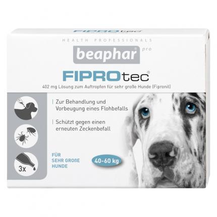 FIPROtec 402mg Lösung zum Auftragen für sehr große Hunde