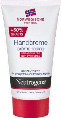 NORWEGISCHE FORMEL Handcreme unparfümiert Neutrogena