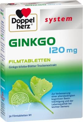 Doppelherz Ginkgo 120mg system