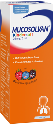 Mucosolvan Kindersaft 30mg/5ml