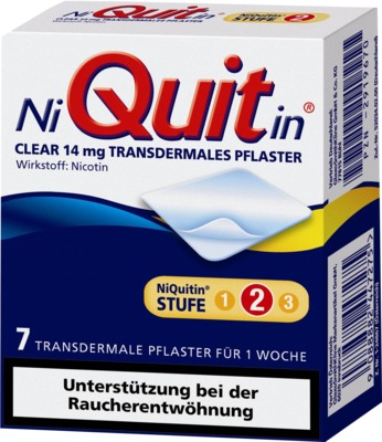 NiQuitin Clear 14mg/24 Stunden