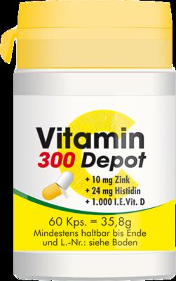 VITAMIN C 300 Depot+Zink+Histidin+D Kapseln
