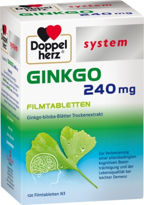 Doppelherz Ginkgo 240mg system