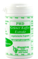 GRÜNER KAFFEE Extrakt Kapseln 50% Chlorogensäur.