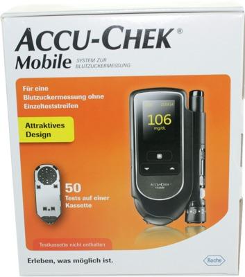 ACCU CHEK Mobile Set mg/dl III