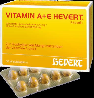 VITAMIN A+E Hevert Kapseln