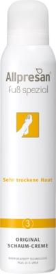 Allpresan Fuß spezial Nr. 3 Original Schaum-Creme Sehr trockene Haut