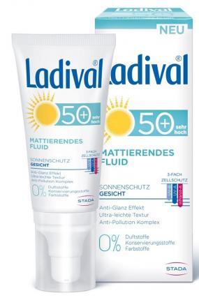 Ladival Mattierendes Gesichtsfluid LSF 50+