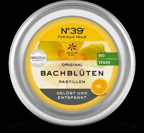 BACHBLÜTEN Notfall No.39 Pastillen BIO