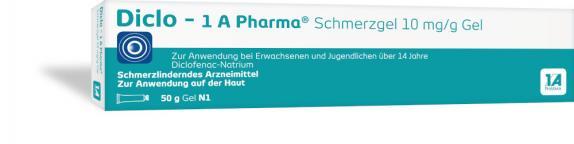 Diclo-1A Pharma Schmerzgel 10mg/g