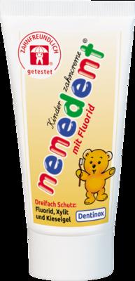 NENEDENT Kinderzahncreme m.Fluorid Standtube