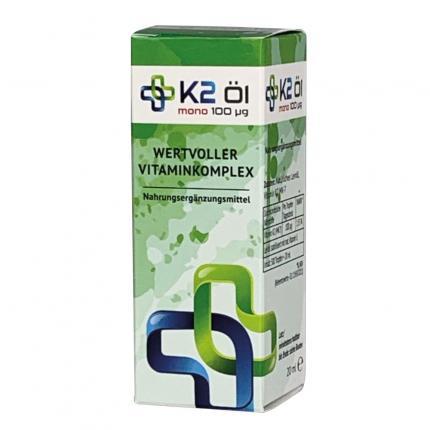 K2 Öl Mono 100 µg