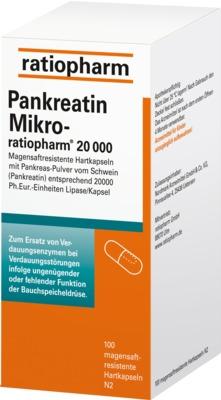 Pankreatin Mikro-ratiopharm 20000