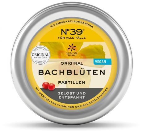 ORIGINAL BACHBLÜTEN PASTILLEN No 39 FÜR ALLE FÄLLE