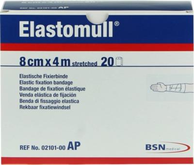 Elastomull 8cmx4m streched Elastische Fixierbinde