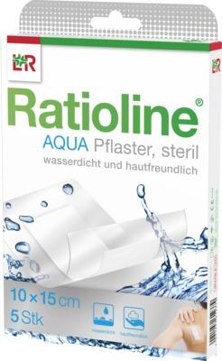 RATIOLINE aqua Duschpflaster Plus 10x15 cm steril