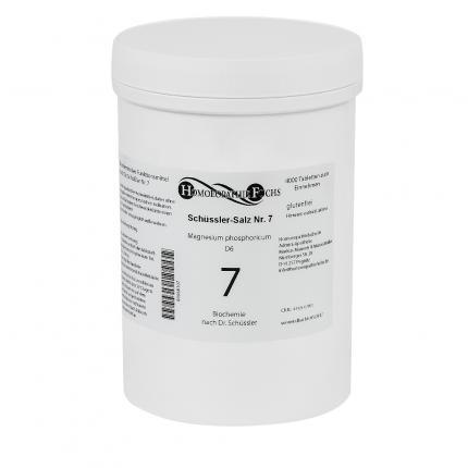 HOMOEOPATHIEFUCHS Schüssler-Salz Nr. 7 Magnesium phosphoricum D6 Biochemie