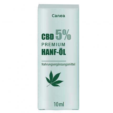 Canea CBD 5% PREMIUM Hanf-Öl