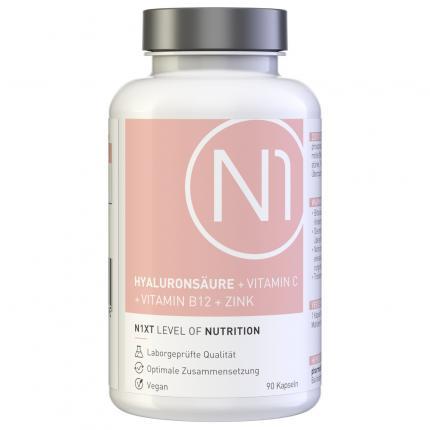 N1 HYALURONSÄURE + VITAMIN C + VITAMIN B12 + ZINK