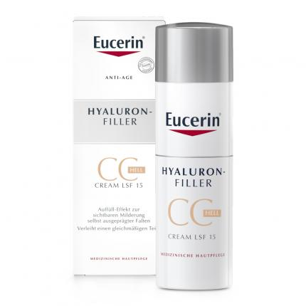 Eucerin Hyaluron-Filler CC Cream Hell Creme