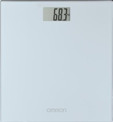 OMRON HN-289 digitale Personenwaage silbergrau