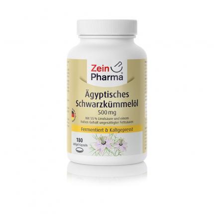 ÄGYPTISCHES Schwarzkümmelöl Kapseln 500 mg