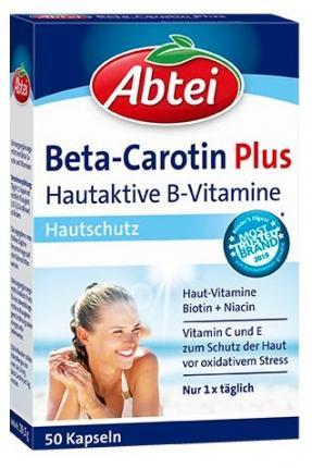 Abtei Beta-Carotin Plus Hautaktive B-Vitamine