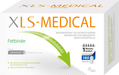 XLS Medical Fettbinder Tabletten Monatspackung