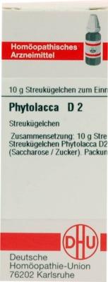 PHYTOLACCA D 2 Globuli