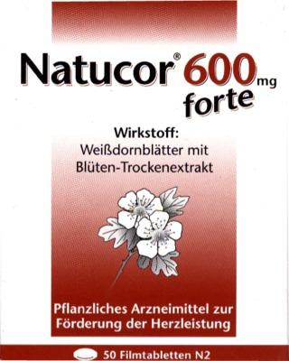 Natucor 600mg forte