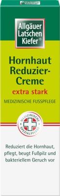 Allgäuer Latschen Kiefer Hornhaut Reduzier-Creme extra stark