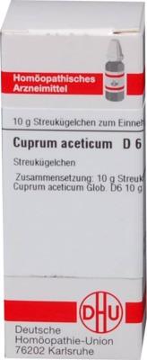CUPRUM ACETICUM D 6 Globuli