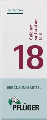 BIOCHEMIE Pflüger 18 Calcium sulfuratum D 6 Tabletten