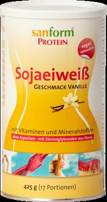 SANFORM Protein Sojaeiweiß Vanille Pulver
