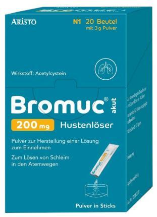 Bromuc akut 200mg Hustenlöser