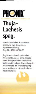 PHÖNIX THUJA lachesis spag.Tropfen