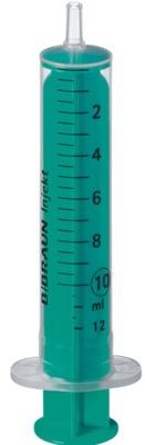 INJEKT Solo Spritze 10 ml Luer exzentrisch PVC-frei