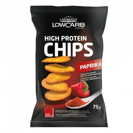 Lowcarb.one High Protein Chips Paprika