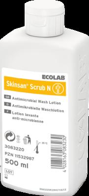 SKINSAN scrub N antimikrobielle Waschlotion