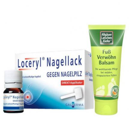 Loceryl Nagelpilz & Pflege Set