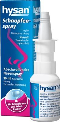 HYSAN Schnupfenspray 1mg/ml Lösung