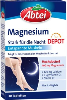 Abtei Magnesium Stark für die Nacht Depot Tabletten
