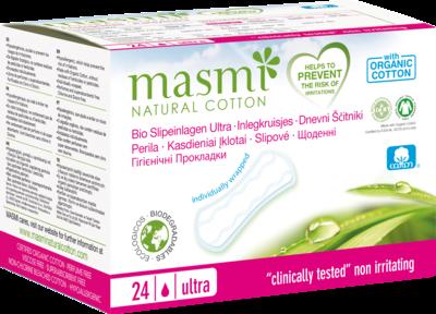 BIO SLIPEINLAGEN Ultra 100% Bio-Baumwolle MASMI