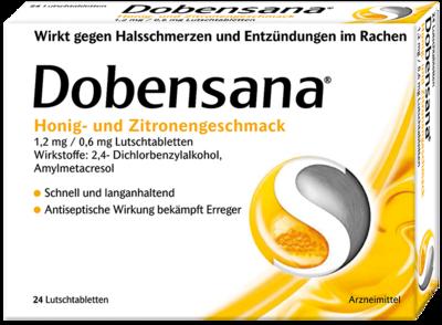 Dobensana Honig- und Zitronengeschmack 1,2mg/0,6mg